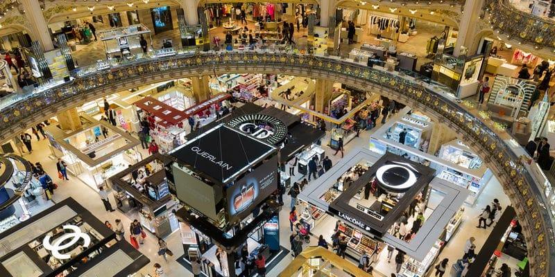 Grand magasin de luxe