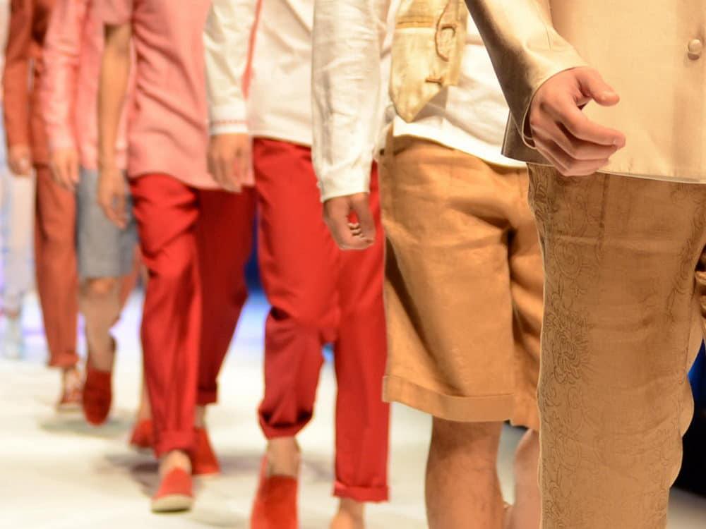 Défilé de mode masculin