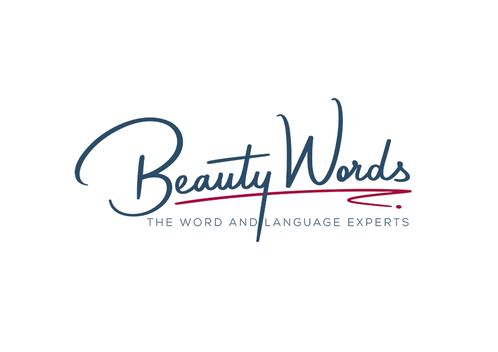 Beauty Words The Word and Language Experts