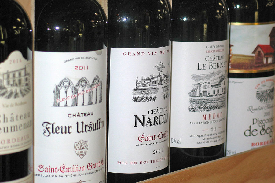 Oenological translation accompanies the success of French wines in the United States?