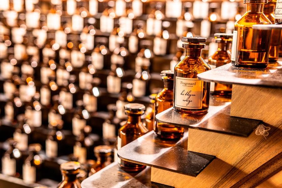 La parfumerie française à l'export